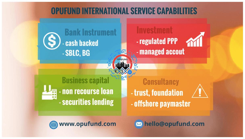 Opufund business capabilities | opufund.com